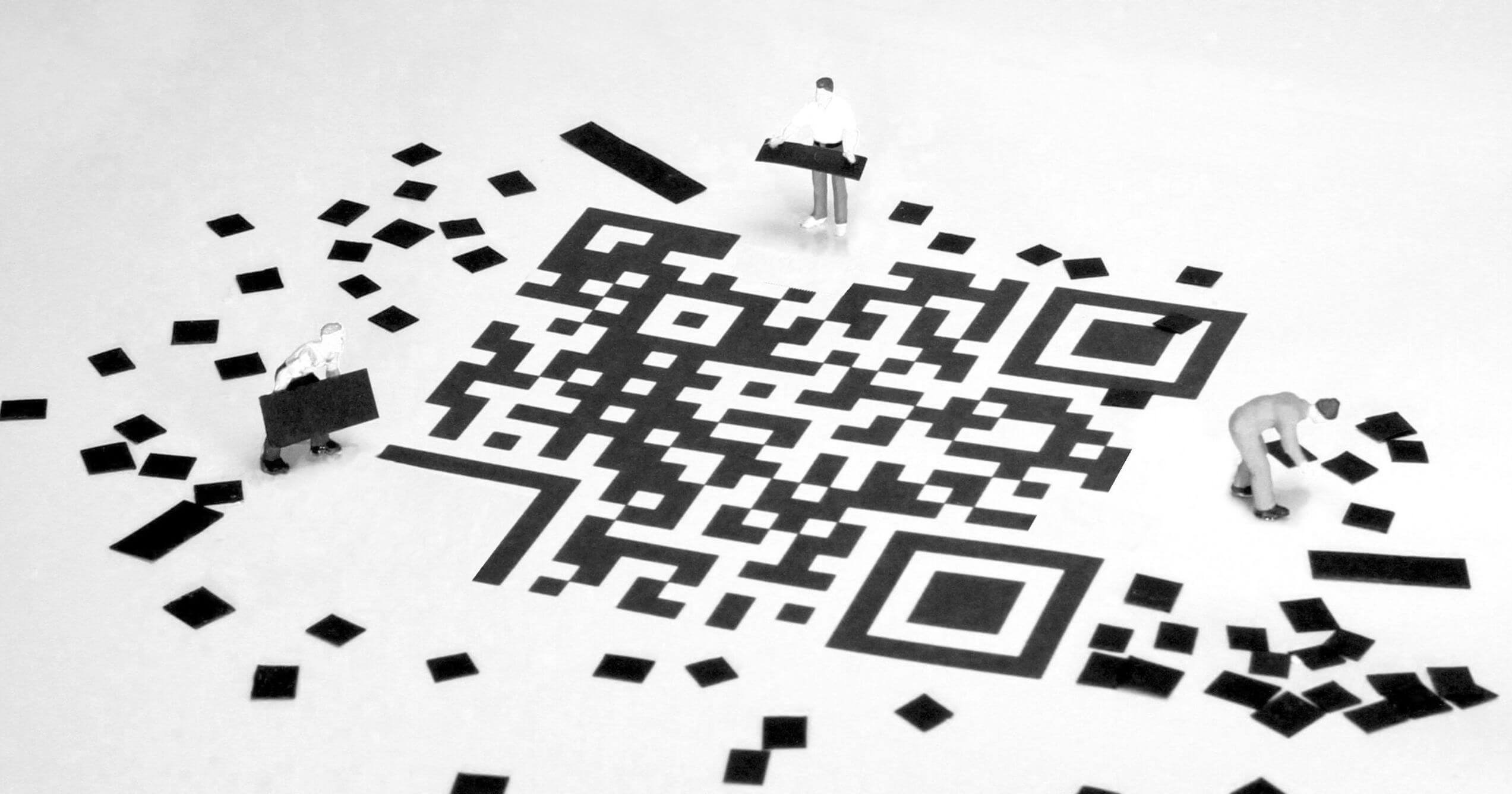 QR codes and their applications in CONREGO