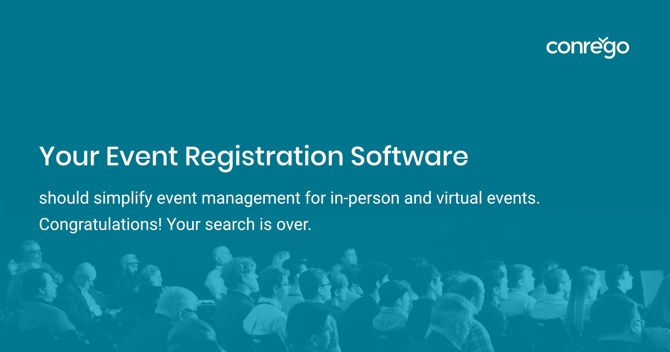 Recruiting volunteers with CONREGO event registration software